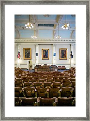 Usa, New Hampshire, Concord, New Framed Print by Walter Bibikow