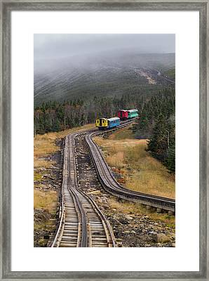 Usa, New Hampshire, White Mountains Framed Print by Walter Bibikow