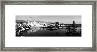 Usa, Oregon, Crater Lake National Park Framed Print by Paul Souders