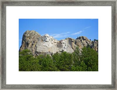 Usa, South Dakota Framed Print