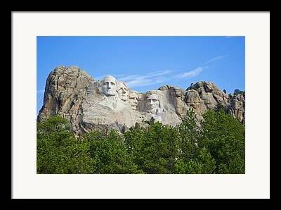 South Dakota Tourism Framed Prints