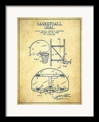 Hoop Patent Framed Prints