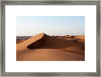 Wahiba Sands Desert, Oman Framed Print