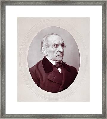 William Ewart Gladstone (1809-1898) Framed Print by Granger