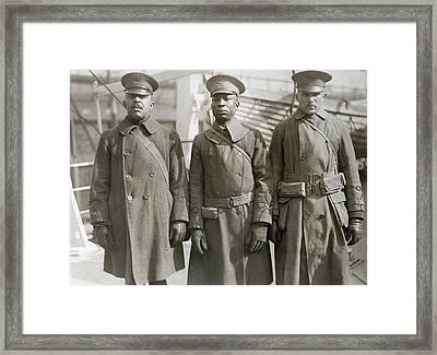 Wwi Homecoming, 1919 Framed Print by Granger