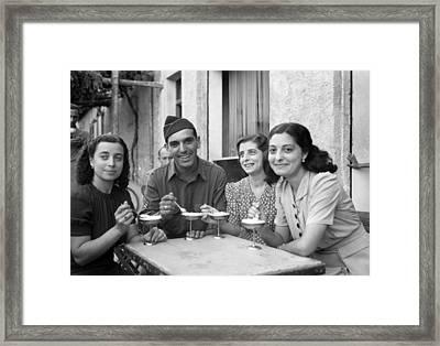 Wwii Sicily, 1943 Framed Print by Granger