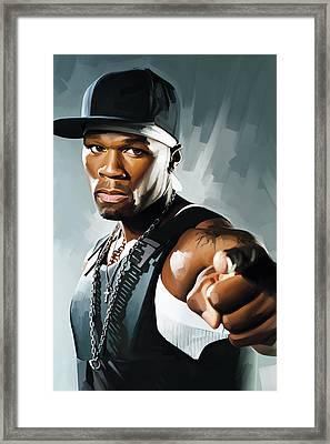 50 Cent Artwork 2 Framed Print