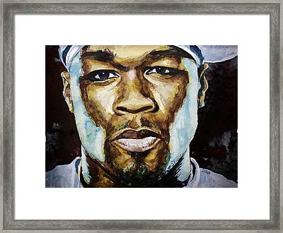 50 Cent Framed Print