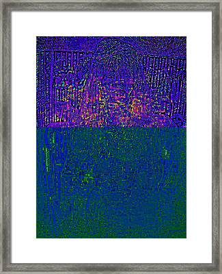 Digital  Art Framed Print by HollyWood Creation By linda zanini