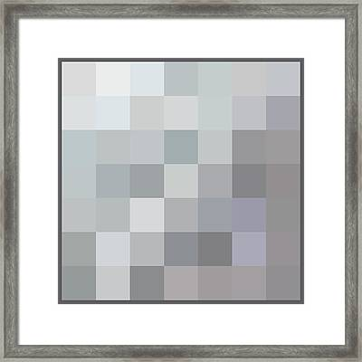 50 Shades Of Grey Framed Print by Richard Reeve