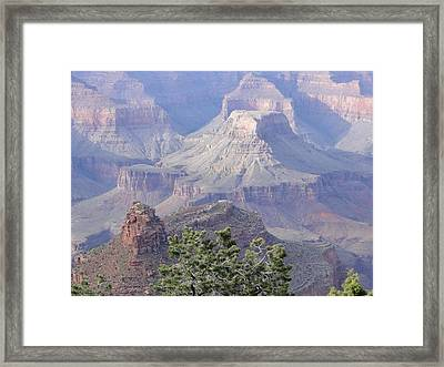 50 Shades Of Purple In The Grand Canyon Framed Print