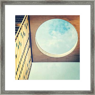 500 Brickell Bldg. - Miami Framed Print