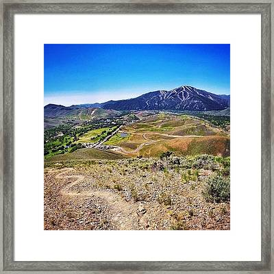 Instagram Photo Framed Print by Cody Haskell