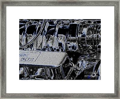 Framed Print featuring the digital art 502 by Chris Thomas