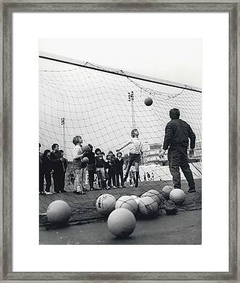 London Schoolboys Framed Print by Retro Images Archive