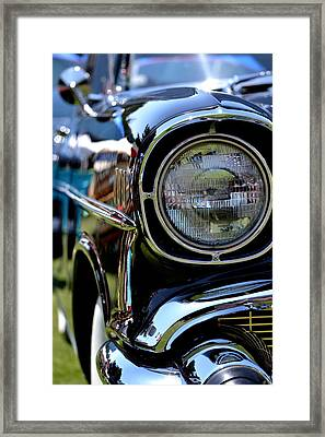 Framed Print featuring the photograph 50's Chevy by Dean Ferreira