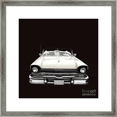50s Ford Fairlane Convertible Framed Print