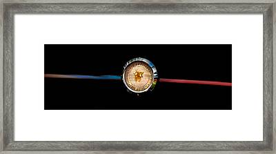 50th Anniversary Ford Motor Company Badge Framed Print