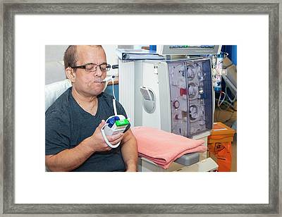 Shared Care Dialysis Unit Framed Print