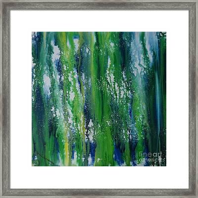 Greenery Duars Framed Print