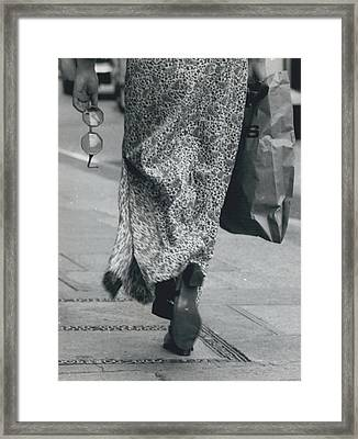 Rose Colored Glasses Framed Print by Retro Images Archive