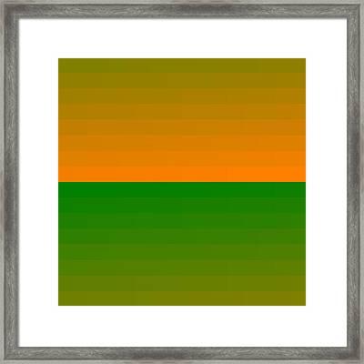 5120.4.45 Framed Print by Gareth Lewis