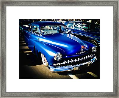 52 Ford Mercury Framed Print by Phil 'motography' Clark