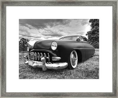 52 Hudson Pacemaker Coupe Framed Print