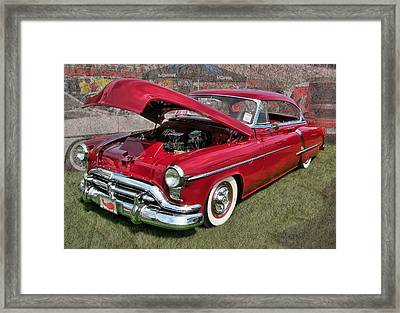 '52 Oldsmobile Framed Print by Victor Montgomery
