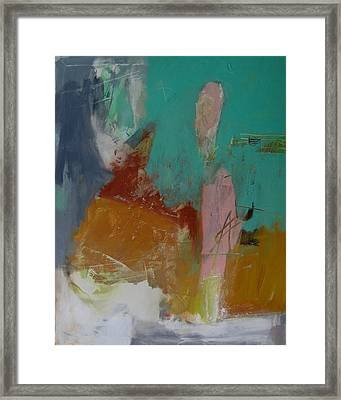 Framed Print featuring the painting Untitled by Fred Smilde