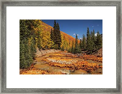 Usa, Colorado, San Juan Mountains Framed Print