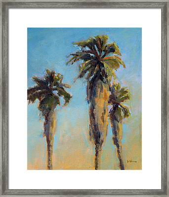 Pacific Breeze Framed Print