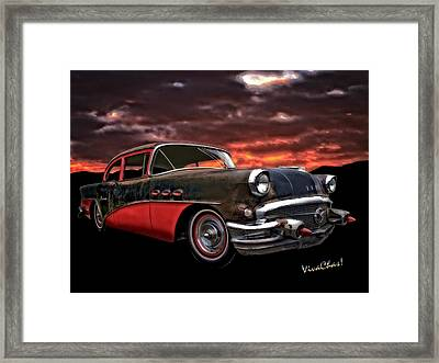 53 Buick Special Two Door Framed Print