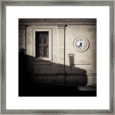 5.35pm Framed Print