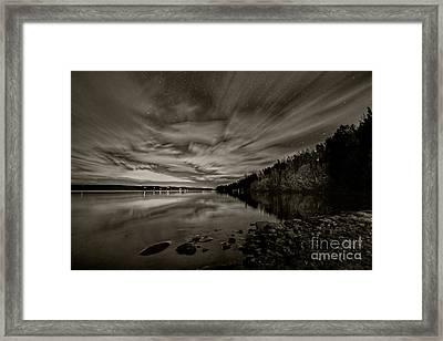 54 Boat Launch  Framed Print by Darcy Shawchek