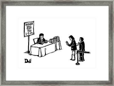 New Yorker December 25th, 2006 Framed Print