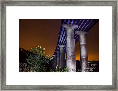 540 Bridge Framed Print
