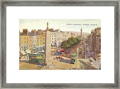 The Ancient Town Of Agrigentum Framed Print by MotionAge Designs