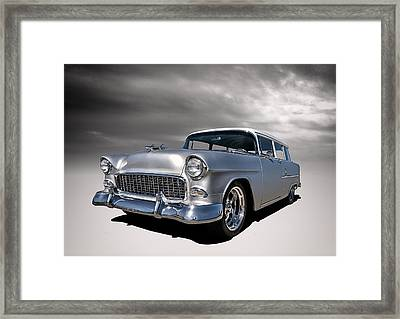 '55 Handyman Wagon Framed Print by Douglas Pittman