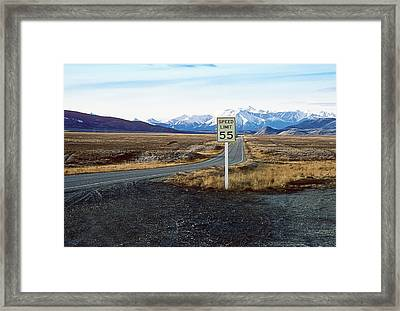 55 Framed Print by Kellice Swaggerty