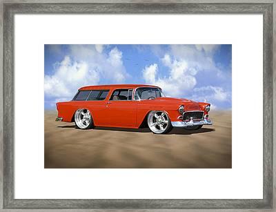 55 Nomad Framed Print