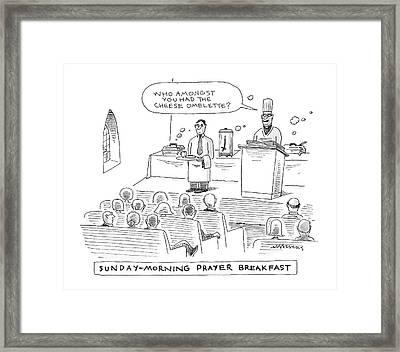 New Yorker November 24th, 2008 Framed Print