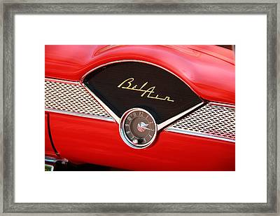 Framed Print featuring the photograph '56 Bel Air by Aaron Berg