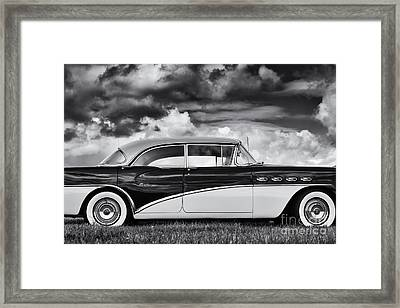 56 Buick Two Tone Framed Print by Tim Gainey