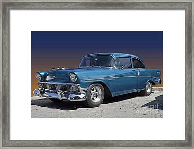 56 Chevy Framed Print