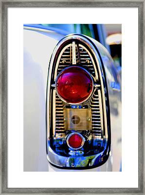 56 Chevy Tail Framed Print