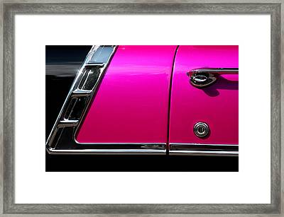 56 Chevy Two Tone Framed Print by Steve Raley