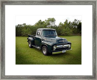 Framed Print featuring the photograph 56 F100 by Keith Hawley