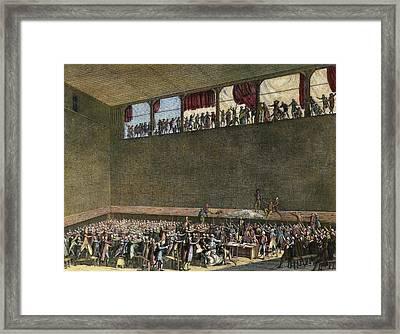 French Revolution, 1789 Framed Print