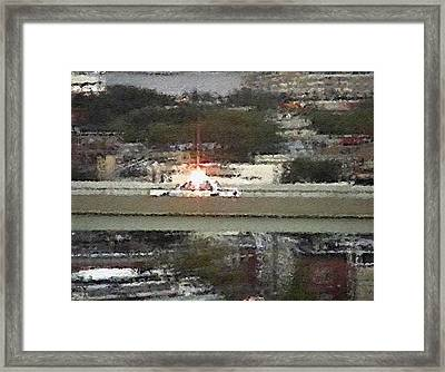 #54 Sands Of Time Framed Print